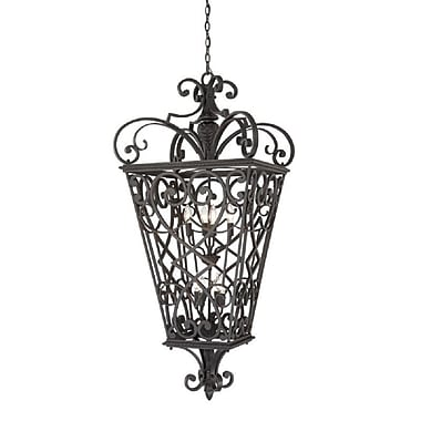 Quoizel FQ1931MK01 Incandescent Hanging Lantern, Marcado Black