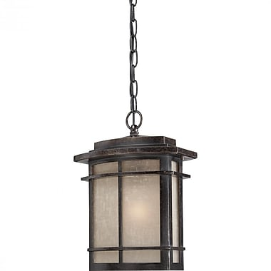 Quoizel GLN1910IB Imperial Bronze Hanging Lantern, Incandescent