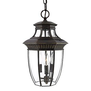 Quoizel GT1700IB Incandescent Hanging Lantern, Imperial Bronze