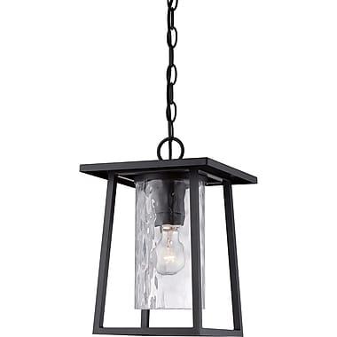 Quoizel LDG1909KFL Mystic Black Hanging Lantern, CFL