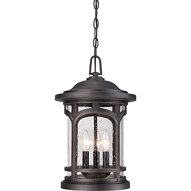 Quoizel MBH1911PN Incandescent Hanging Lantern, Palladian Bronze