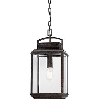 Quoizel BRN1910IBFL Imperial Bronze Hanging Lantern, CFL