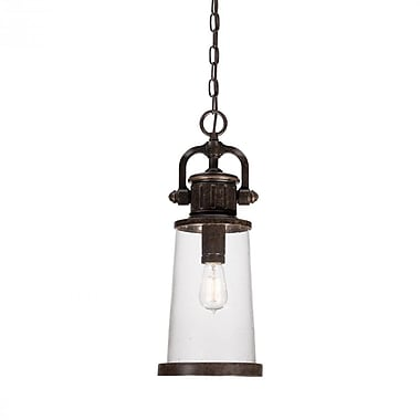 Quoizel SDN1908IB Imperial Bronze Hanging Lantern, Incandescent