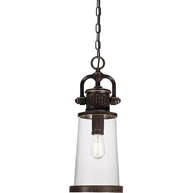 Quoizel SDN1908IBFL Imperial Bronze Hanging Lantern, CFL