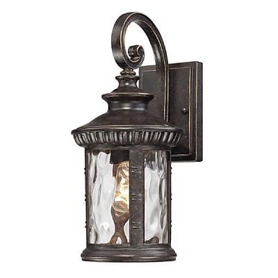 Quoizel CHI8407IB Imperial Bronze Wall Lantern, Incandescent