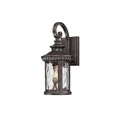 Quoizel CHI8407IBFL Imperial Bronze Wall Lantern, CFL