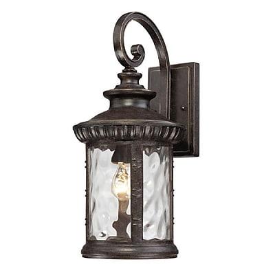 Quoizel CHI8409IB Imperial Bronze Wall Lantern, Incandescent