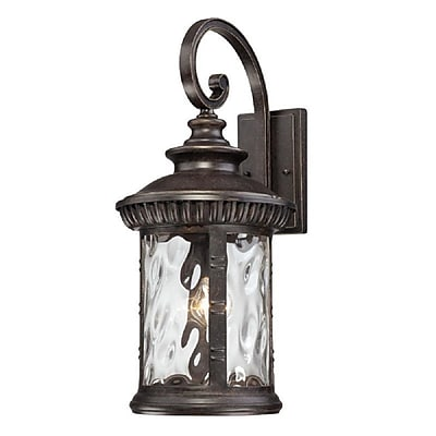 Quoizel CHI8411IB Imperial Bronze Wall Lantern, Incandescent