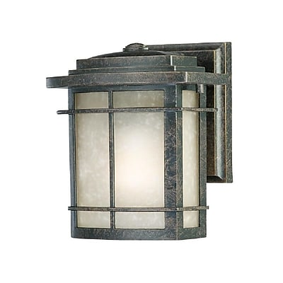 Quoizel GLN8407IB Imperial Bronze Wall Lantern, Incandescent