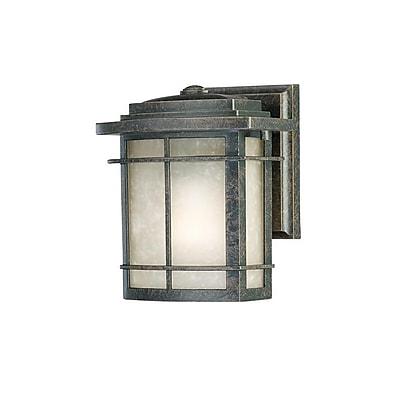 Quoizel GLN8407IBFL Imperial Bronze Wall Lantern, CFL