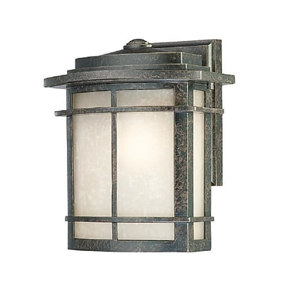 Quoizel GLN8409IB Imperial Bronze Wall Lantern, Incandescent