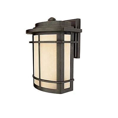 Quoizel GLN8410IBFL Imperial Bronze Wall Lantern, CFL
