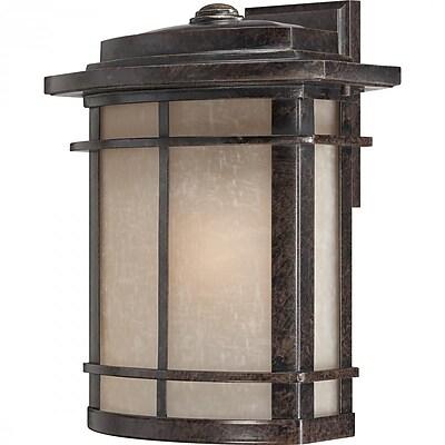 Quoizel GLN8412IB Imperial Bronze Wall Lantern, Incandescent