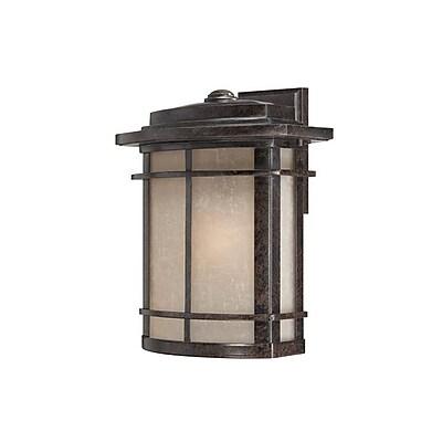 Quoizel GLN8412IBFL Imperial Bronze Wall Lantern, CFL
