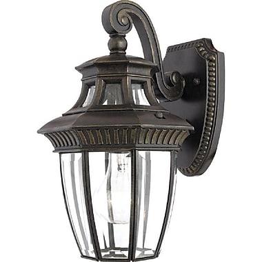 Quoizel GT8980IB Imperial Bronze Wall Lantern, Incandescent