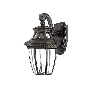 Quoizel GT8980IBFL Imperial Bronze Wall Lantern, CFL