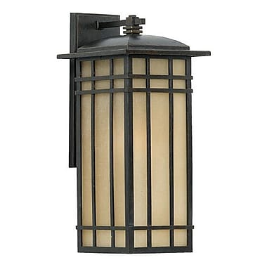 Quoizel HCE8409IB Imperial Bronze Wall Lantern, Incandescent