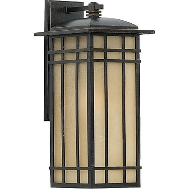 Quoizel HCE8409IBFL Imperial Bronze Wall Lantern, CFL