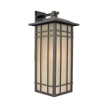 Quoizel HCE8411IB Imperial Bronze Wall Lantern, Incandescent