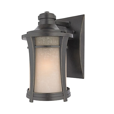 Quoizel HY8407IBFL Imperial Bronze Wall Lantern, CFL