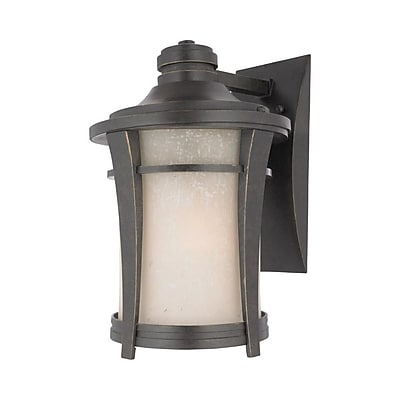 Quoizel HY8409IB Imperial Bronze Wall Lantern, Incandescent
