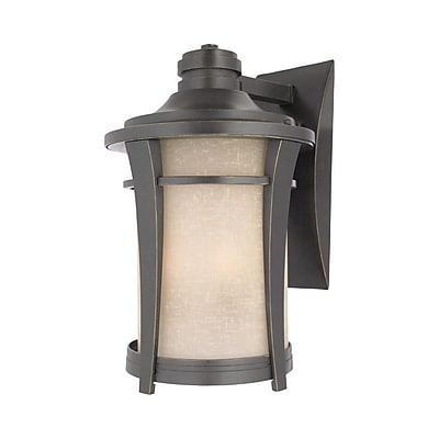 Quoizel HY8411IB Incandescent Wall Lantern, Imperial Bronze