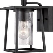 quoizel outdoor lighting exterior quoizel ldg8406 mystic black wall lantern outdoor lighting staples