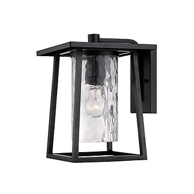 Quoizel LDG8409KFL Mystic Black Wall Lantern, CFL