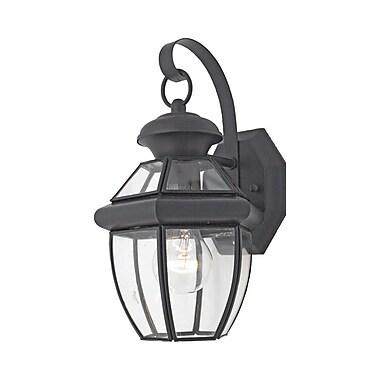 Quoizel NY8315K Incandescent Post Lantern, Mystic Black