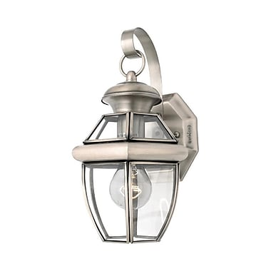 Quoizel NY8315P Incandescent Wall Lantern, Pewter