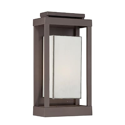 Quoizel PWL8309WT Incandescent Wall Lantern, Western Bronze