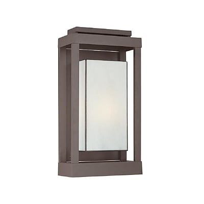 Quoizel PWL8311WT Incandescent Wall Lantern, Western Bronze
