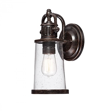 Quoizel SDN8405IB Imperial Bronze Wall Lantern, Incandescent