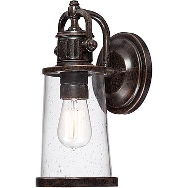 Quoizel SDN8405IBFL Imperial Bronze Wall Lantern, CFL