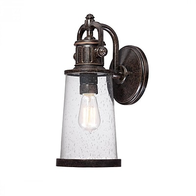 Quoizel SDN8407IB Imperial Bronze Wall Lantern, Incandescent