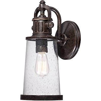 Quoizel SDN8407IBFL Imperial Bronze Wall Lantern, CFL