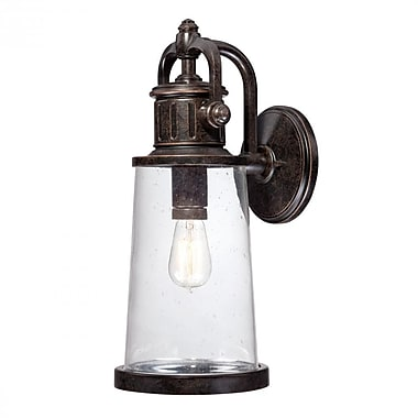 Quoizel SDN8408IB Imperial Bronze Wall Lantern, Incandescent