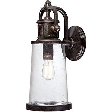 Quoizel SDN8408IBFL Imperial Bronze Wall Lantern, CFL