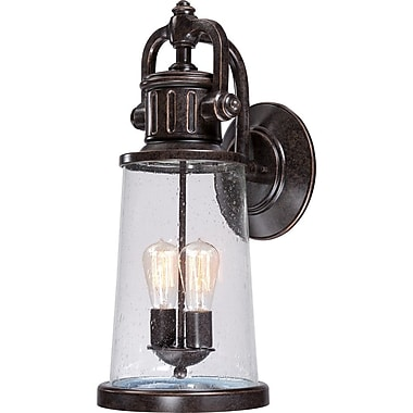 Quoizel SDN8409IB Imperial Bronze Wall Lantern, Incandescent