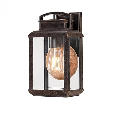 Quoizel BRN8406IB Imperial Bronze Wall Lantern, Incandescent