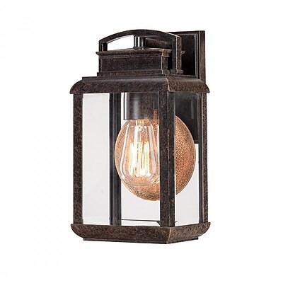 Quoizel BRN8406IB Imperial Bronze Wall Lantern, Incandescent