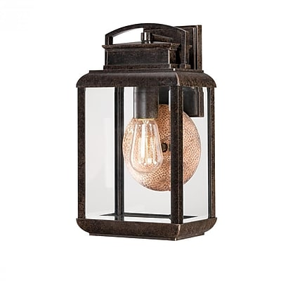 Quoizel BRN8408IB Imperial Bronze Wall Lantern, Incandescent