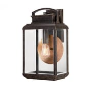 Quoizel BRN8410 Imperial Bronze Wall Lantern
