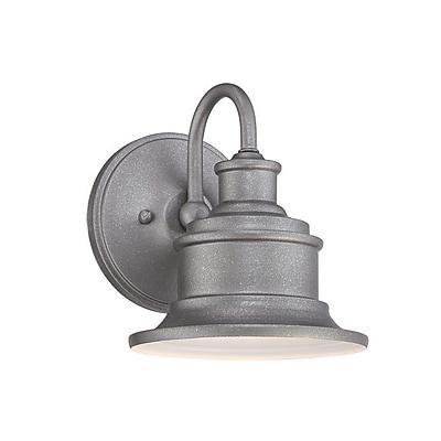 Quoizel SFD8407GVFL CFL Wall Lantern, Galvanized