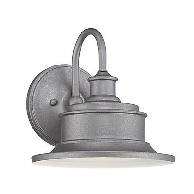 Quoizel SFD8409GVFL CFL Wall Lantern, Galvanized