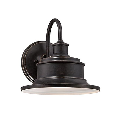 Quoizel SFD8411IBFL CFL Wall Lantern, Imperial Bronze