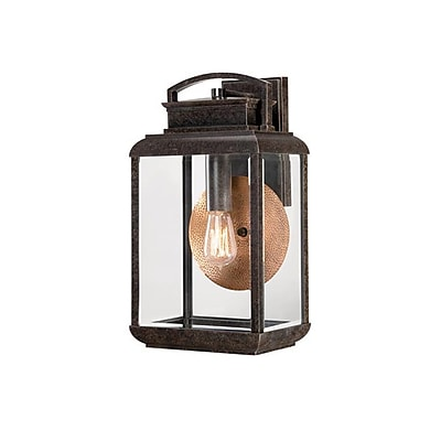 Quoizel BRN8410IBFL Imperial Bronze Wall Lantern, CFL