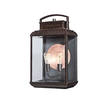 Quoizel BRN8412IBFL Imperial Bronze Wall Lantern, CFL