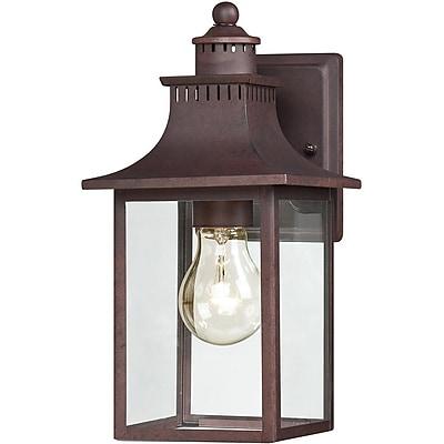 Quoizel CCR8406CUFL Copper Bronze Wall Lantern, CFL