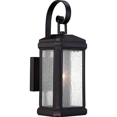 Quoizel TML8405K Incandescent Wall Lantern, Mystic Black
